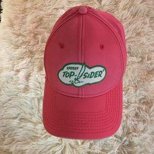 Sperry Top Sider - pink/adjustable cap.💕💕